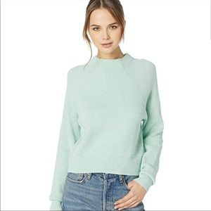 Free People Too Good Knit Mockneck Sweater, Large